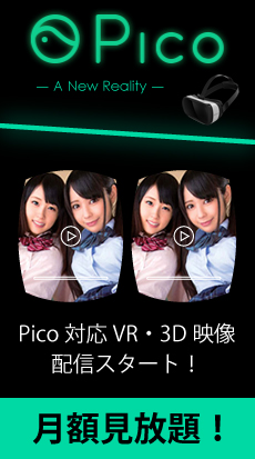 月額見放題!Pico対応VR・3D映像配信スタート