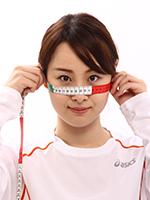 UVカットマスク「ドレスマスク」の採寸方法