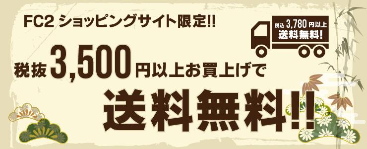 3,500円送料無料