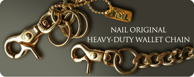NAIL HEAVY-DUTY WALLET CHAIN