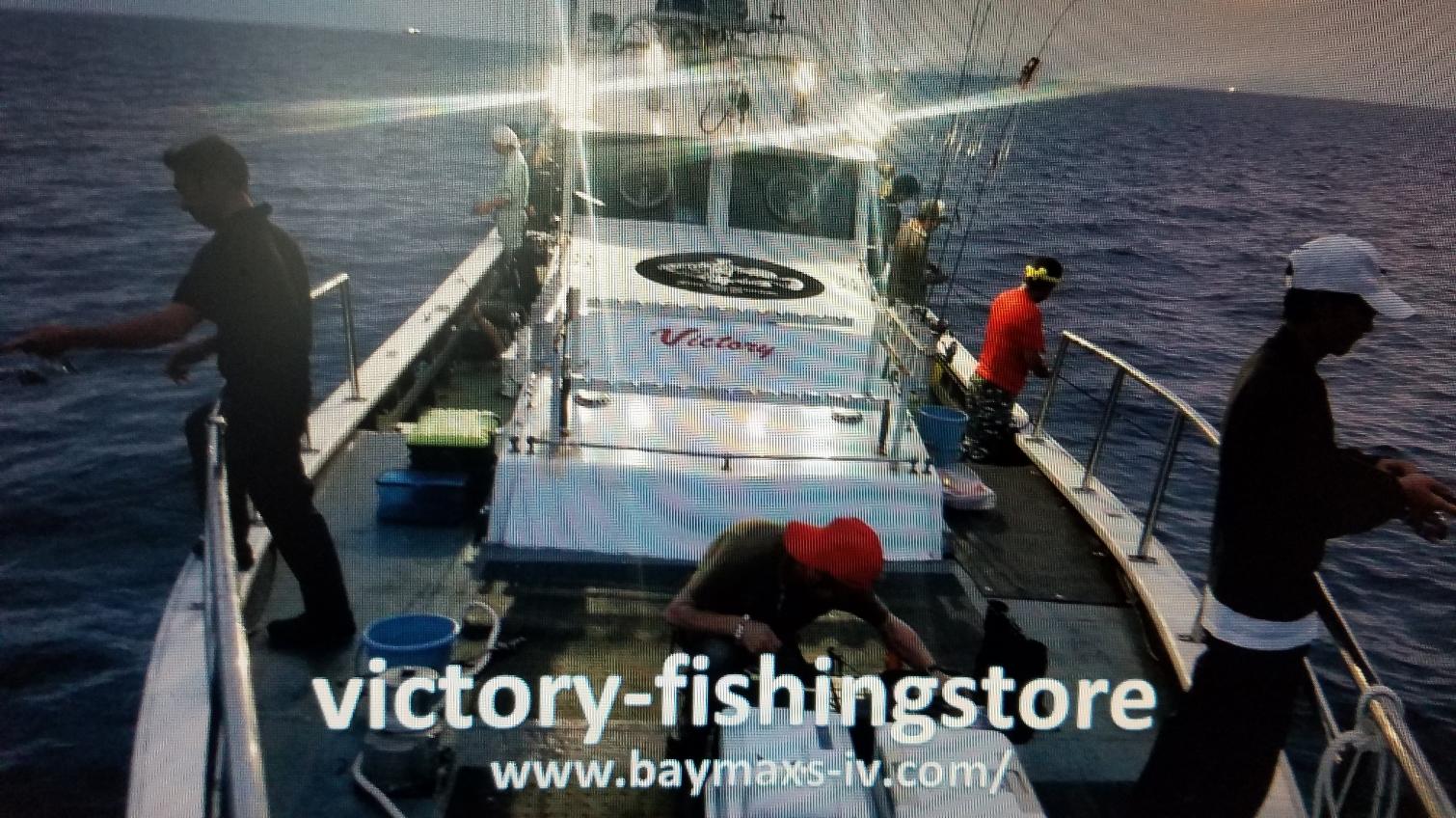 VICTORYオリジナルルアー釣り市場