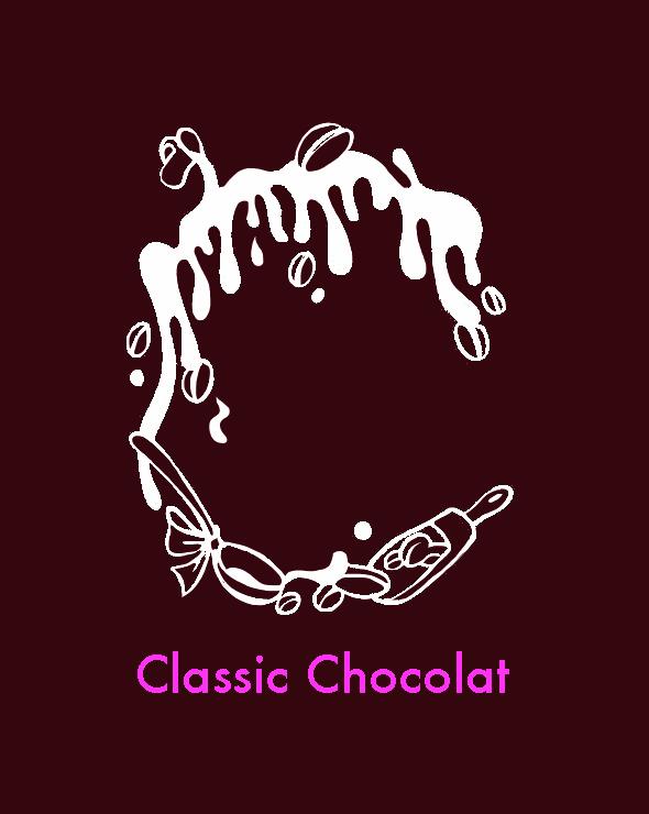 """ショコラの""""C""""が描かれています。"""
