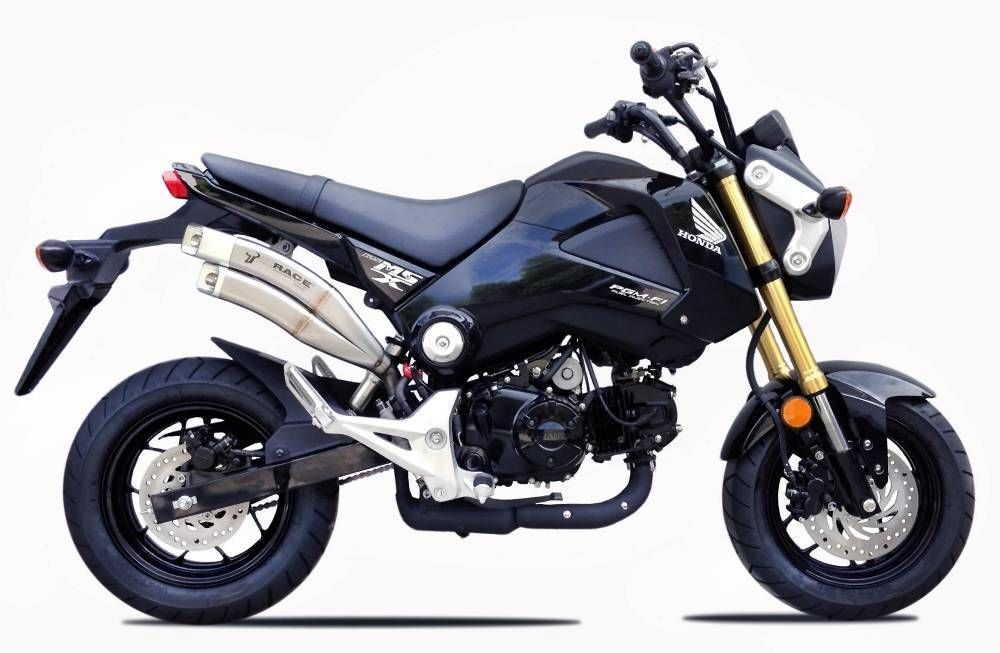 商品詳細<br><br>IXrace Exhaust System Z7 デュアルチップ スリップオン マフラー ブラック&nbsp;Honda GROM/MSX125 <br><br><br><br>Part Number:QH 6315 B<br><br>管理コード:h-**<br><br><br>