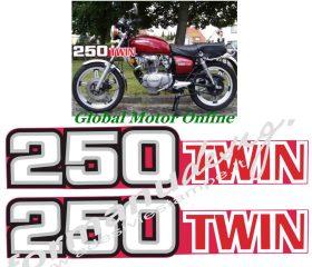 グラフィック デカール&nbsp; Honda CB250 1978<br>Part Number:Ema  Honda CB250 1978<br>管理コード:p-**<br>