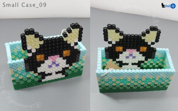 09白黒猫/グリーン系箱
