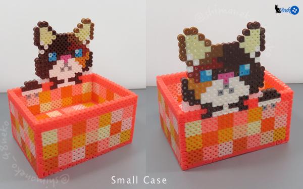 三毛猫/オレンジ箱
