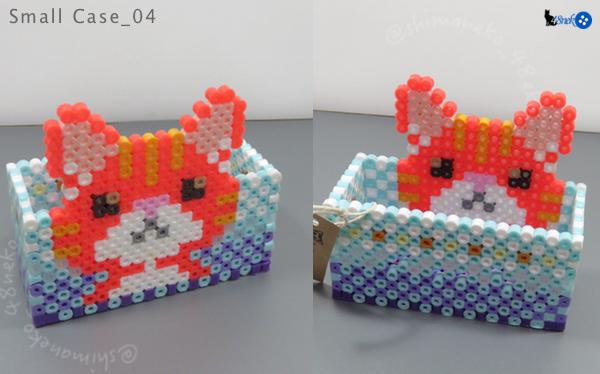 04橙トラ猫/ブルー箱