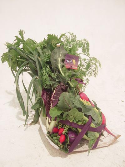 野菜の花束ギフト