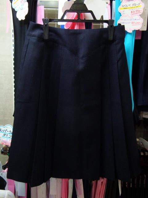 厚手の冬スカート