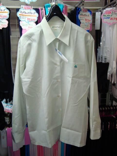 冬・中間用の長袖ブラウス。同じのが2枚付きますが、ともに痛みあり。