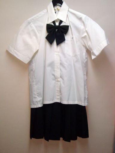 半袖ブラウス&夏スカート