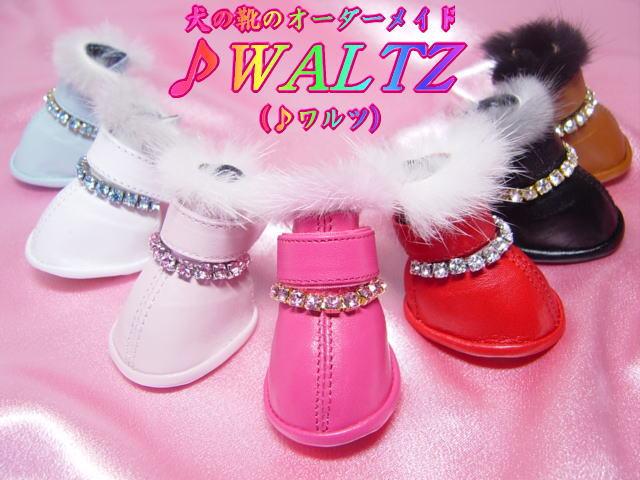 犬の靴のオーダーメイド「♪ワルツ」