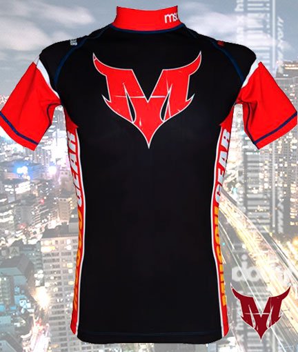 Black X Red / Front