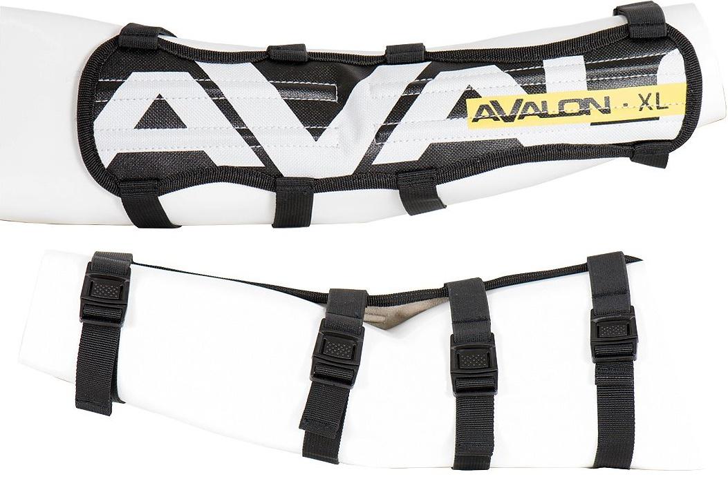 アバロン(AVALON)の33センチのロングアームガード。初心者の方で腕にあたってしまう方はぜひこちらをお使いください。幅広い範囲を保護します。