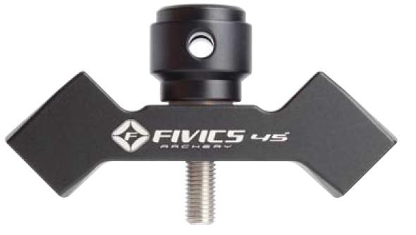 FIVICS(ファイビックス)のVバー。ロングセラーモデル。黒で統一されデザインで2017年にマイナーチェンジ。SAボルトが少し短くなりました。