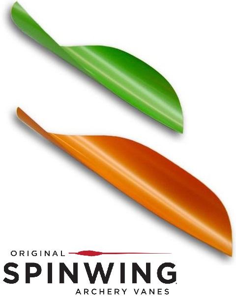 アメリカ レンジ・オ・マティック(Range-O-Matic)のオリジナル・スピンウィング。軽くメンテナンスがしやすいのが特徴のスピンベイン。カーボン矢で一番使用されている羽根です。