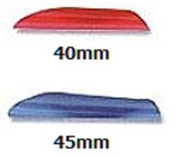 アメリカ レンジ・オ・マティック(Range-O-Matic)のオリジナル・スピンウィング。40mmサイズ。最もシャフトに負荷を与えないベインの一つです。