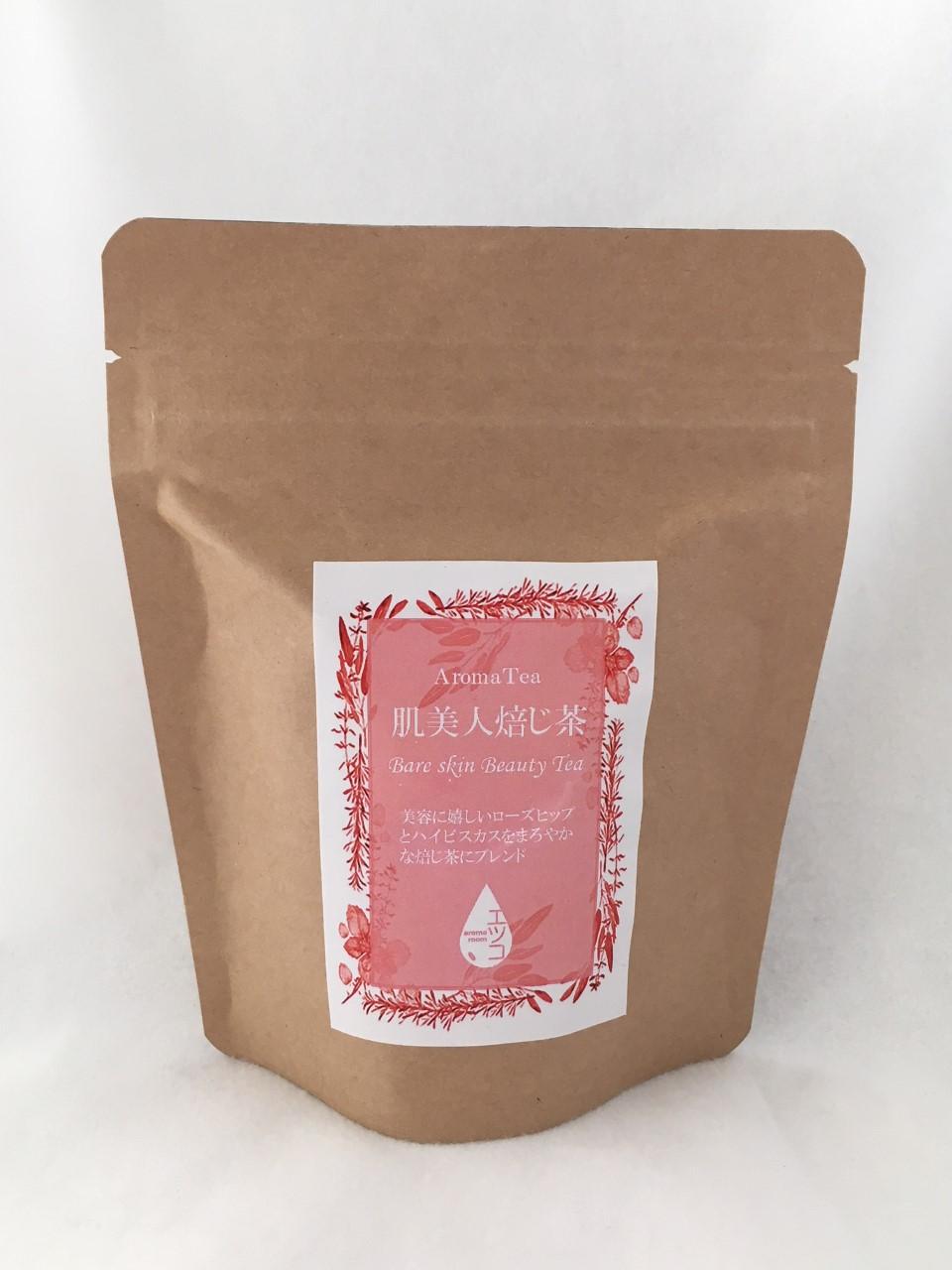 ローズヒップ、ハイビスカス、焙じ茶  40g