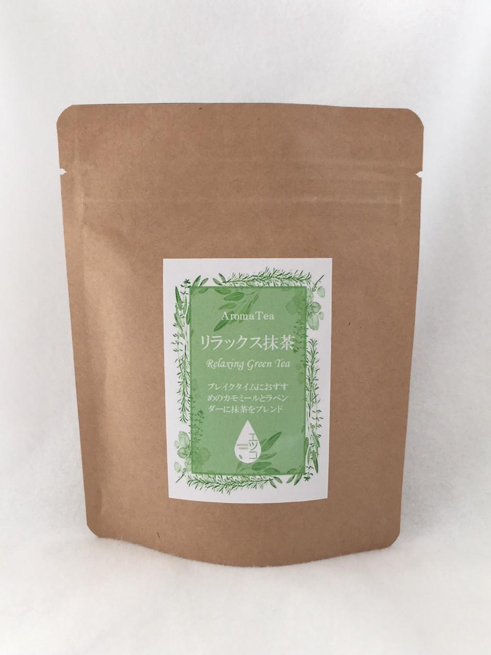 緑茶、カモミールジャーマン、ラベンダー、抹茶  50g