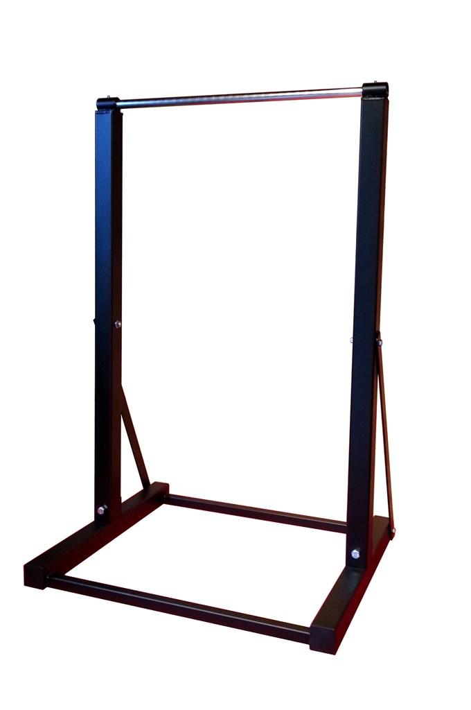 50x50の丈夫な鋼管を使用しています<br />分解組み立てが簡単にできます<br />幅70cm 高さ110cm 奥行60cm<br />φ22mm丸鋼付(メッキ仕上)