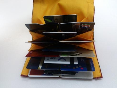 カードスペース 15 ポケット 1