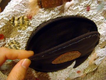 クリーム部分のポケット/Poket
