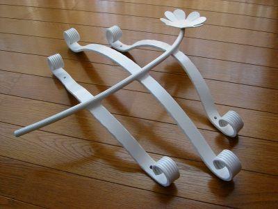 アルミ製妻飾り Cタイプ 白塗装