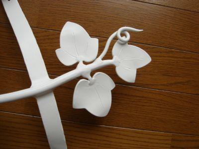 アルミ製妻飾り Hタイプ 白塗装