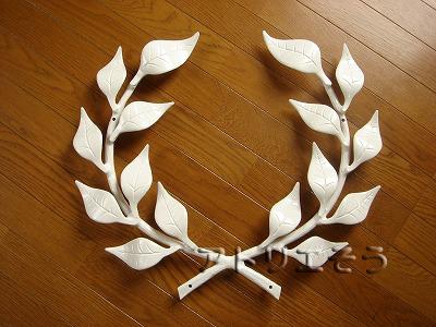 アルミ製妻飾り Fタイプ 白塗装