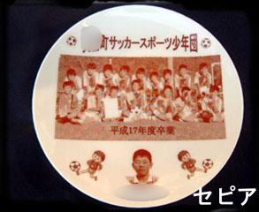 丸皿(小) セピア