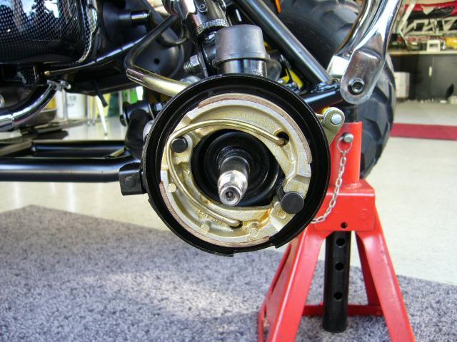 右前輪への装着例