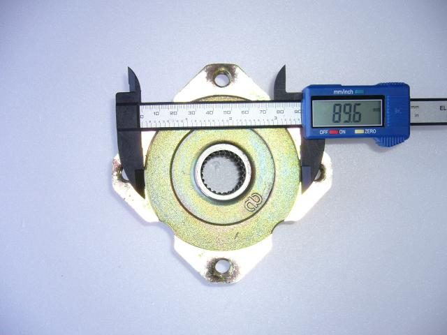 新ハブ直径:約89.6mm