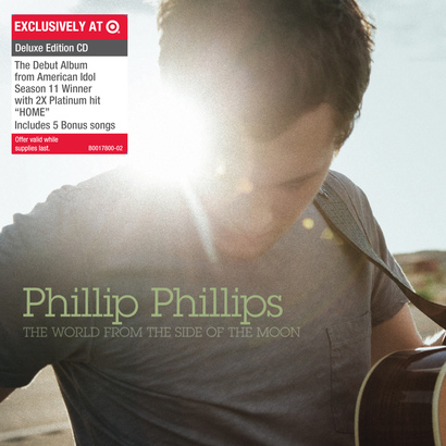 【予約専用】Phillip Phillips 『The World From The Side Of The Moon』US限定 デラックス盤
