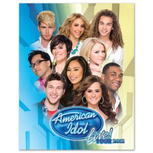 SALE☆ American Idol ツアープログラム アメリカンアイドル 2012