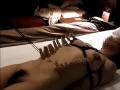 自縛・自虐・ペニスにクリッピングセルフボンデージ、BDSM・緊縛・拘束