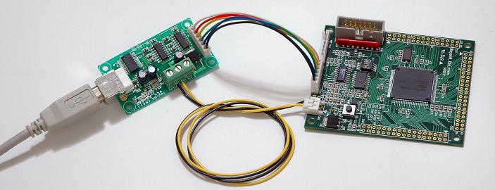 BCSH7211CPUボードとU(USB)ケーブル