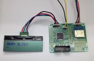 RX230_WiFi + AQM1602XA(LCD)