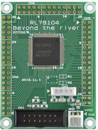 RL78_104 CPUボード