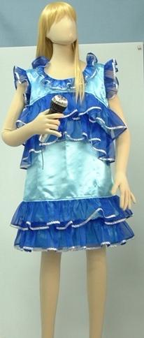 【女装用・キャンディーズ風】ブルー ★M150-03