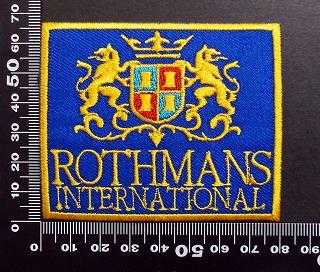 ロスマンズ Rothmans ワッペン パッチ  05960