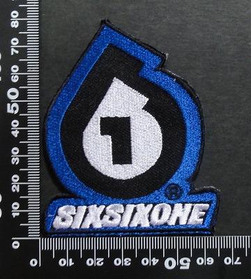 SIXSIXONE(シックスシックスワン)  ワッペン パッチ  07117