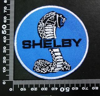 シェルビー・コブラ SHELBY ワッペン パッチ 02007