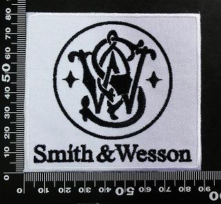 スミス&ウェッソン Smith & Wesson ワッペン パッチ 02008