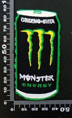 モンスターエナジー ドリンク Monster Energy ワッペン パッチ 06450