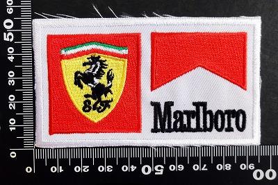 フェラーリ マールボロ ワッペン パッチ 06614