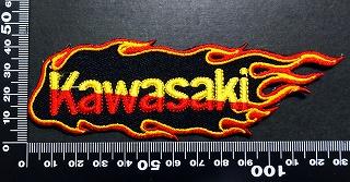 KAWASAKI カワサキ ワッペン パッチ  05999