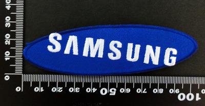 サムスン Samsung ワッペン パッチ 06421