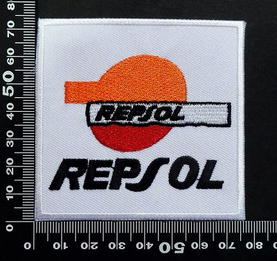レプソル REPSOL ワッペン パッチ  07088