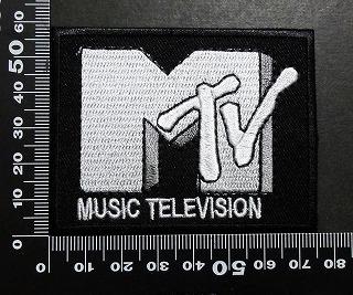 MTV エムティービー ワッペン パッチ 06002