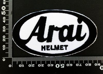 アライ ヘルメット ARAI ワッペン パッチ 06459